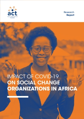 Impact of COVID-19 on Social Change Organizations in Africa